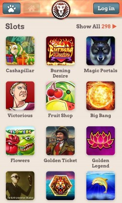 leovegas iphone s6 app