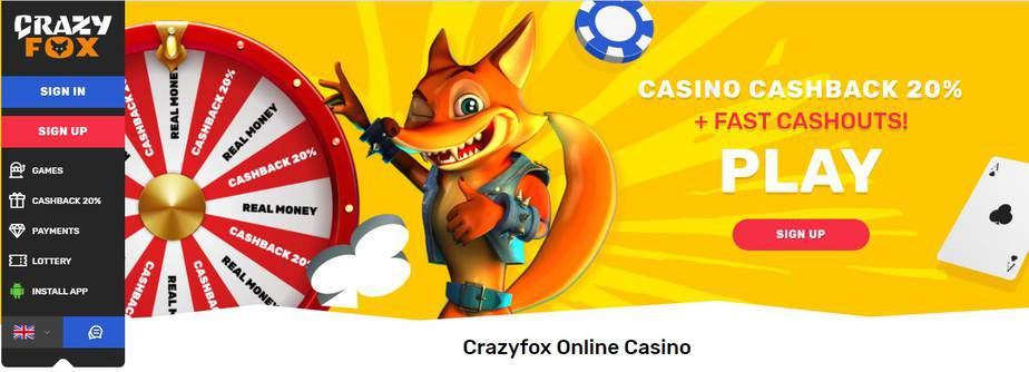 crazyfox casino website